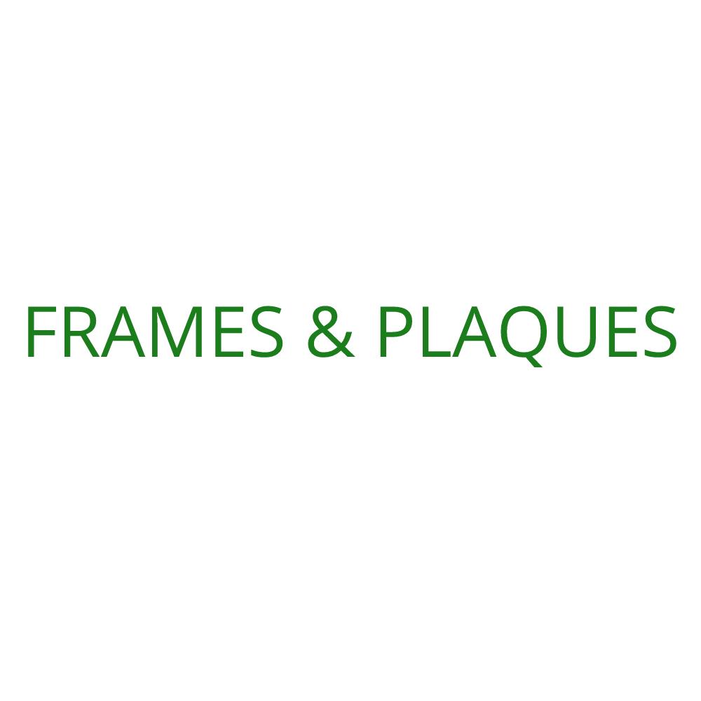 2018 Frames & Plaques