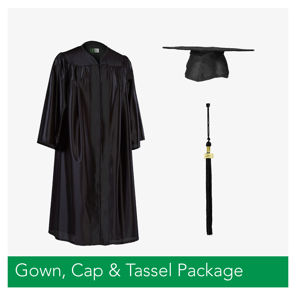 Bachelor's Cap / Gown / Tassel Package – West Texas Graduation ...